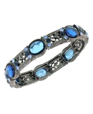 2028 Bracelet, Filigree Austrian Crystal