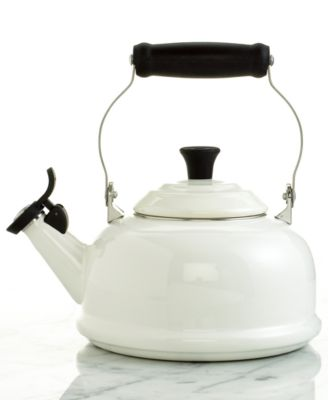 Le Creuset Classic Enamel on Steel 1.8 Qt. Whistling Tea Kettle