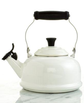Le Creuset Classic Enamel on Steel 1.7 Qt. Whistling Tea Kettle