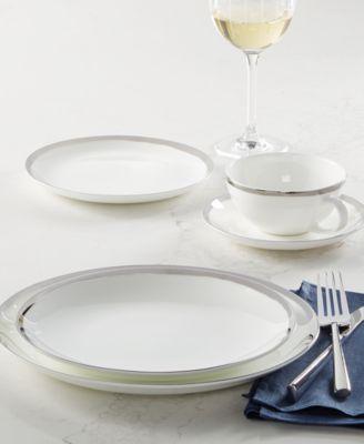 Blakeslee Platinum Dinner Plate