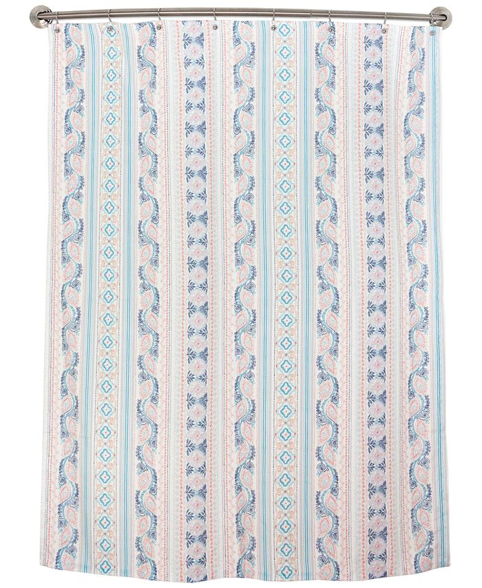 Bardwil - Lily Stripe Shower Curtain