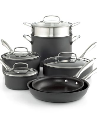 Cuisinart Dishwasher Safe Anodized 11 Piece Cookware Set