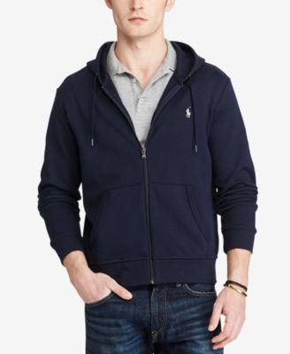 Men's Double-Knit Full-Zip Hoodie