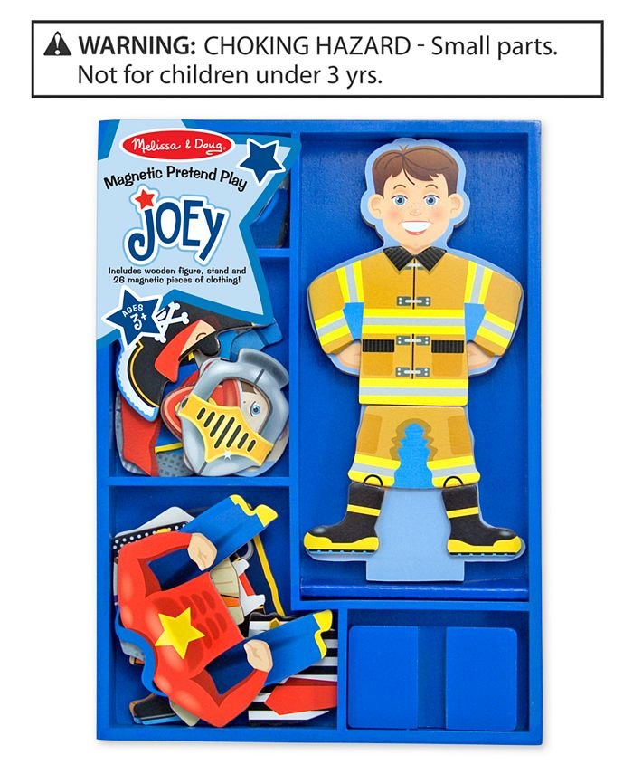 Melissa and Doug - Toy, Magnetic Pretend Play Joey