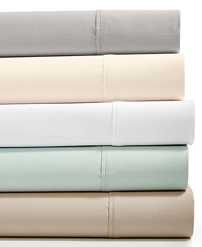 Fairfield Square Collection - Essex Sateen 1200-Thread Count StayFit 6-Pc. Extra Deep King Sheet Set