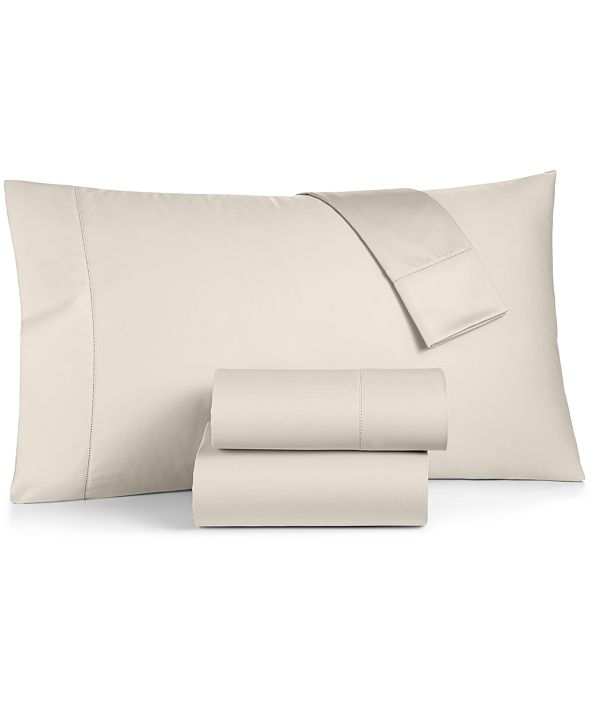 Charter Club  CLOSEOUT! Ivory Supima Cotton 550-Thread Count Sheet Set Collection, Created for Macy's