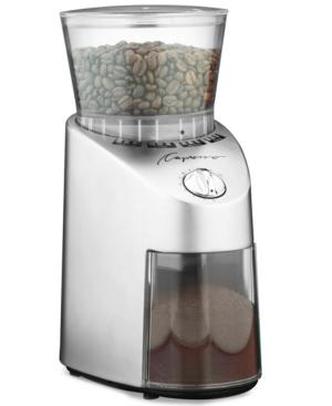 Capresso 560.04 Coffee Grinder, Conical Burr