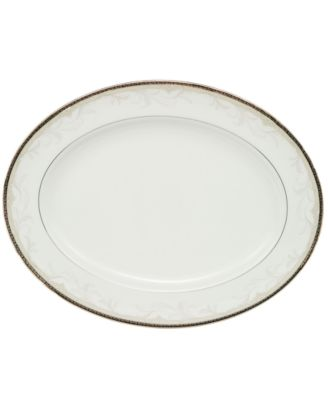 "Waterford Brocade 15.25"" Oval Platter"