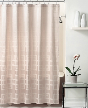 Hotel Collection Bath Accessories, Windows Shower Curtain
