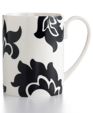 Martha Stewart Collection Dinnerware, Lisbon Black Mug