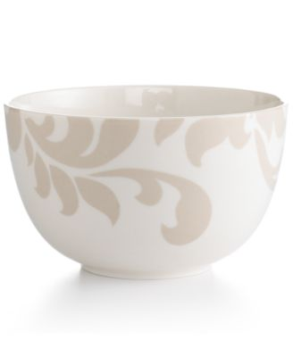 Martha Stewart Collection Lisbon Gray Cereal Bowl