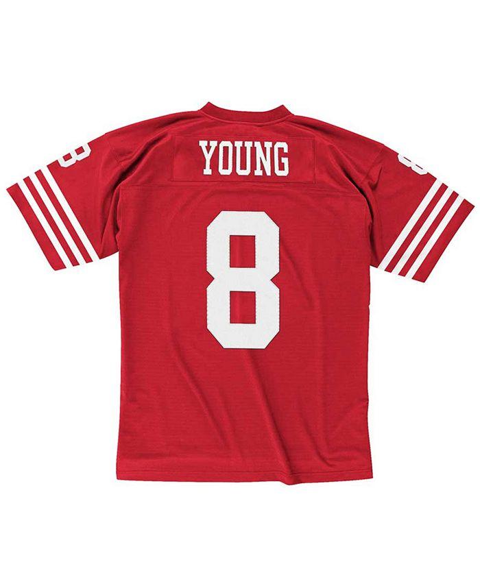 Men's Steve Young San Francisco 49ers Replica Throwback Jersey