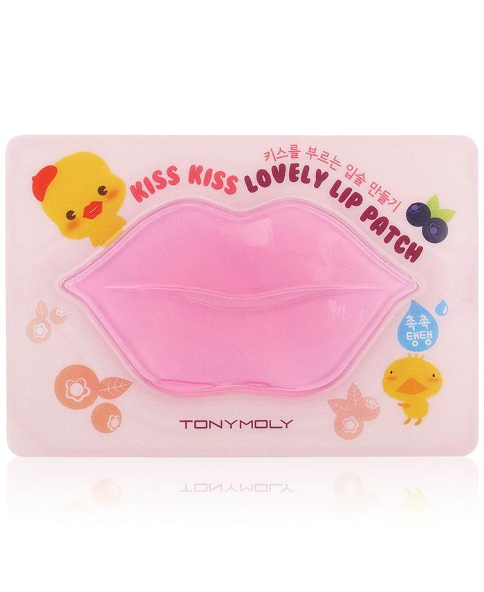 TONYMOLY - Kiss Kiss Lovely Lip Patch - Blueberry