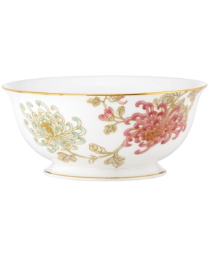 Marchesa by Lenox Dinnerware, Painted Camellia Serving Bowl