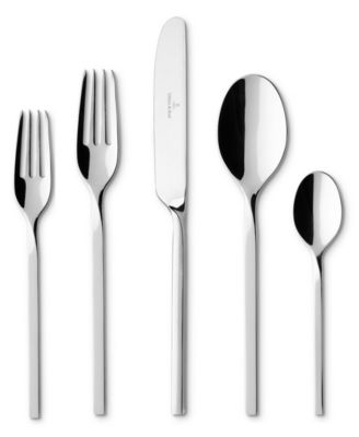 Villeroy & Boch Flatware 18/10, New Wave 64 Piece Set