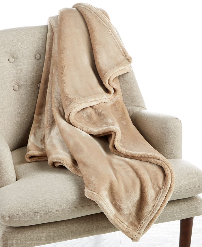 Charter Club - Cozy Plush Throw
