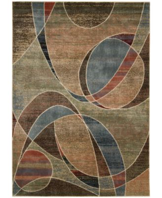 "MANUFACTURER'S CLOSEOUT! Nourison Area Rug, Expressions XP07 Multi 3' 6"" x 5' 6"""