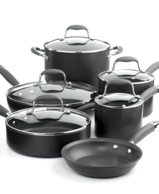 Anolon Advanced Cookware, 11 Piece Set Hard Anodized Nonstick