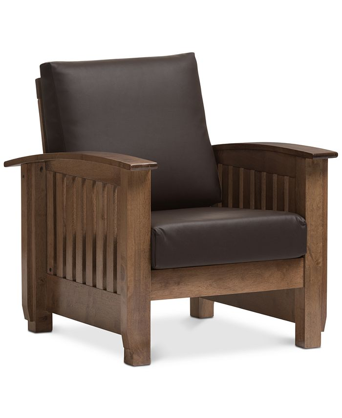 Furniture - Charlotte Lounge Chair, Quick Ship