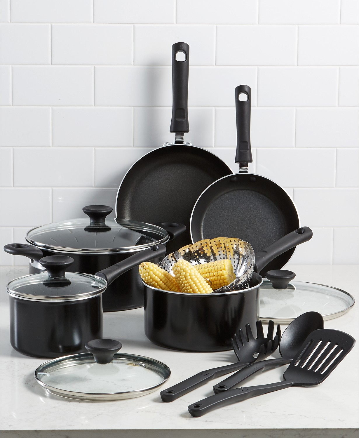Nonstick 13-Pc. Cookware Set $44.99