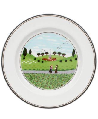Villeroy & Boch Dinnerware, Design Naif Bread and Butter Plate Boy & Girl