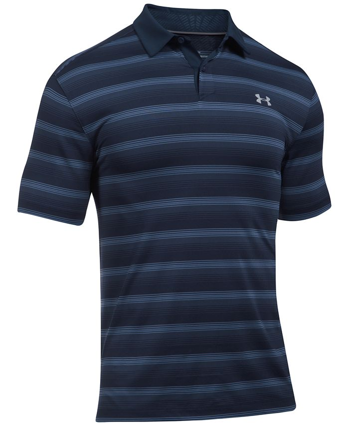 Under Armour - Men's CoolSwitch Striped Polo