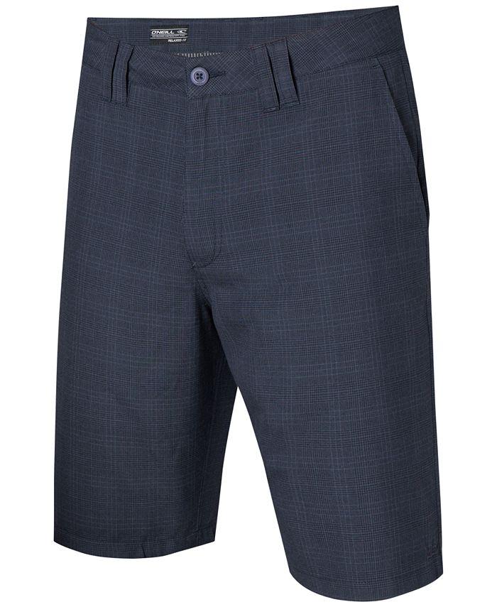 O'Neill - Delta Plaid Chino Shorts