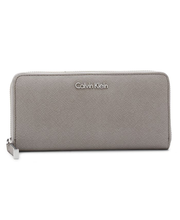 Calvin Klein - Saffiano Zip Around Wallet