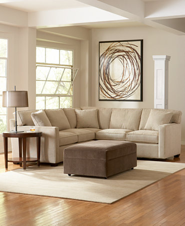 Text Fabric Sectional Living Room Furniture Collection Furniture Macy 39 S