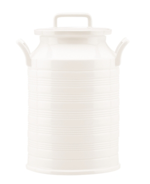 """Lenox Dinnerware, 11"""" Tin Can Alley Milk Can Canister"""