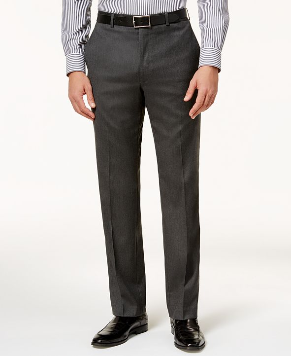 Lauren Ralph Lauren Men's Classic-Fit Microtwill Ultraflex Dress Pants