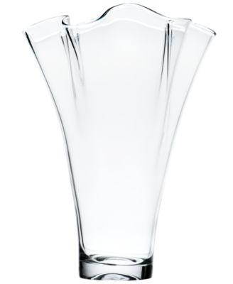 "Lenox Gifts, Organics Ruffle Centerpiece Vase 12"""