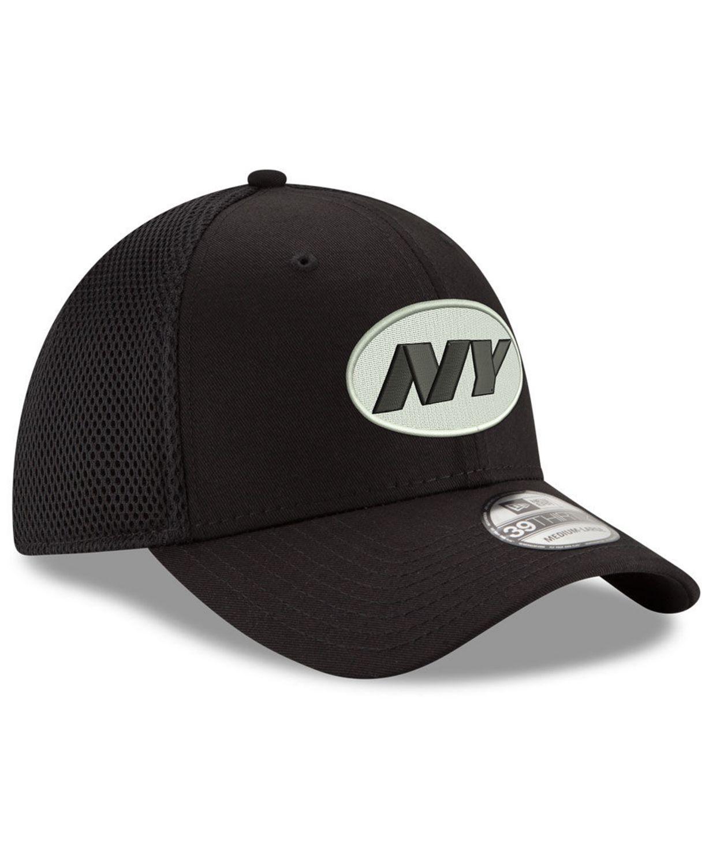 New Era New York Jets Black/White Neo MB 39THIRTY Cap & Reviews - Sports Fan Shop By Lids - Men - Macy's