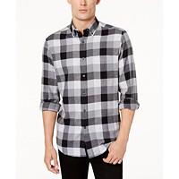 Deals on Club Room Men's Plaid Flannel Shirt