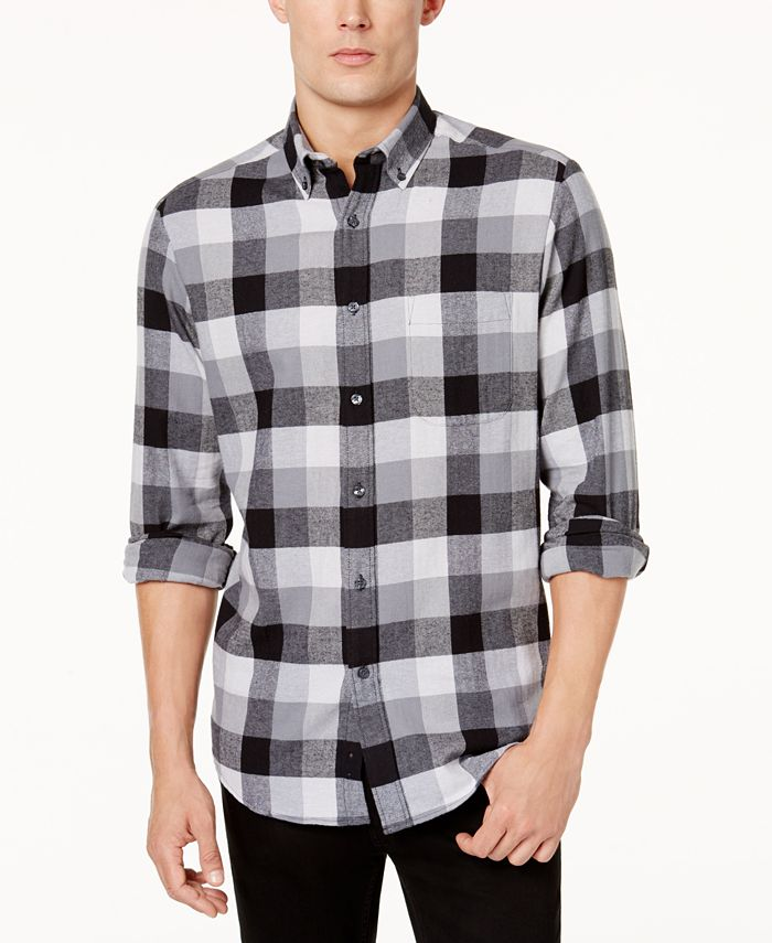 Club Room - Men's Buffalo Plaid Shirt
