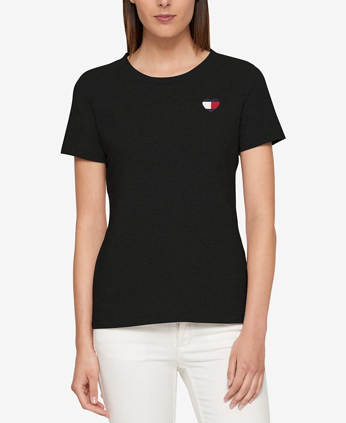 Tommy Hilfiger - Embroidered T-Shirt