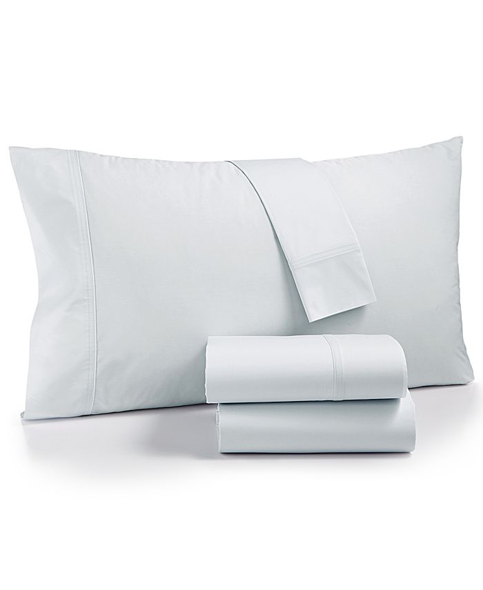 Calvin Klein - Parterres Cotton 270-Thread Count 4-Pc. Queen Sheet Set