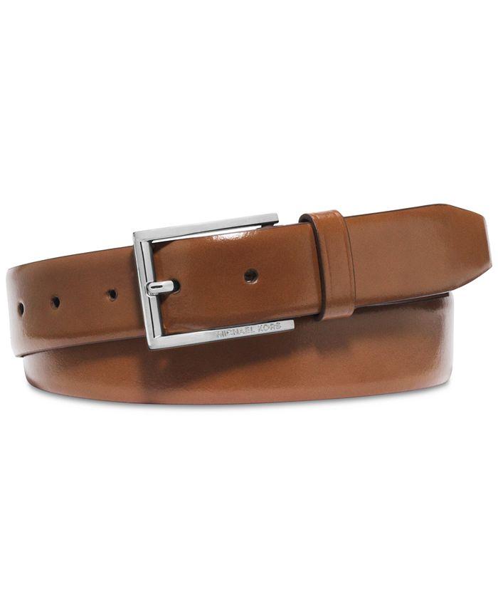 Michael Kors - Men's Leather Dress Belt