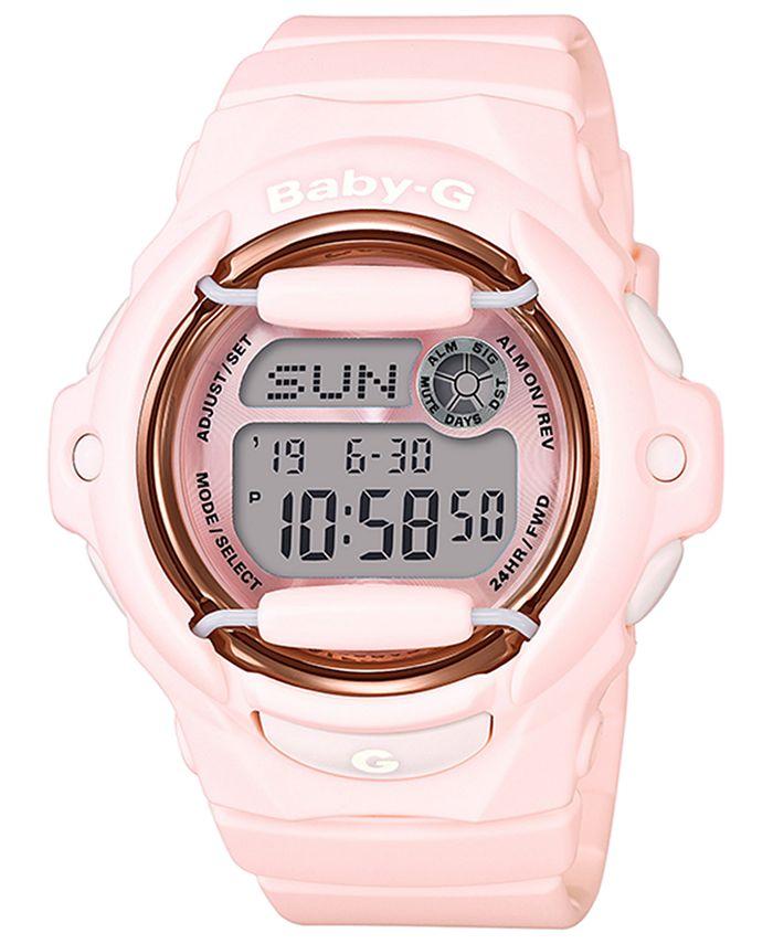 G-Shock - Women's Analog-Digital Pink Resin Strap Watch 43mm