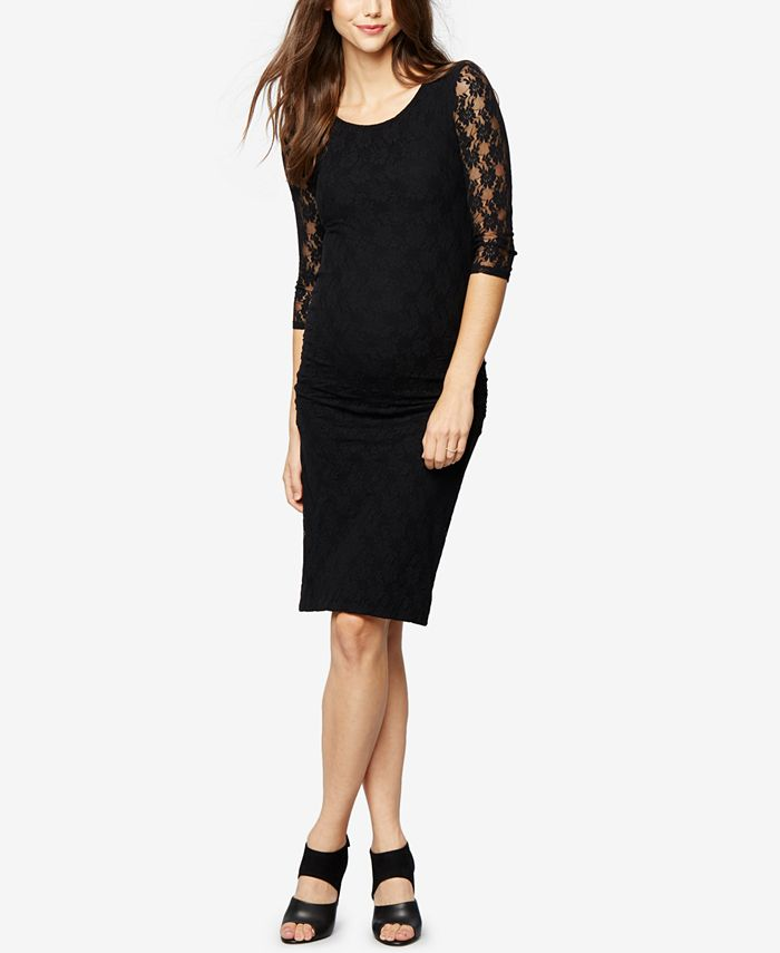 Isabella Oliver - Maternity Lace Sheath Dress