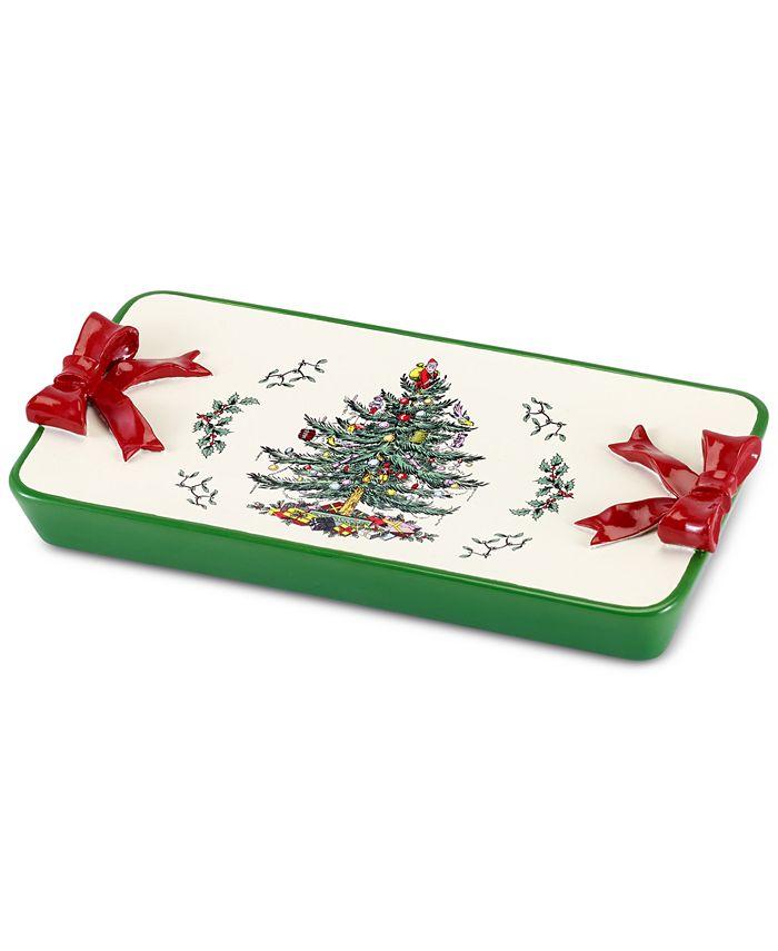 Spode - Christmas Tree Tray