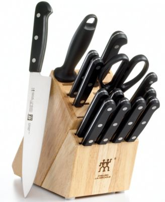 Zwilling J.A. Henckels Knife Block Set, Only at Macy's, 15 Piece Twin Gourmet