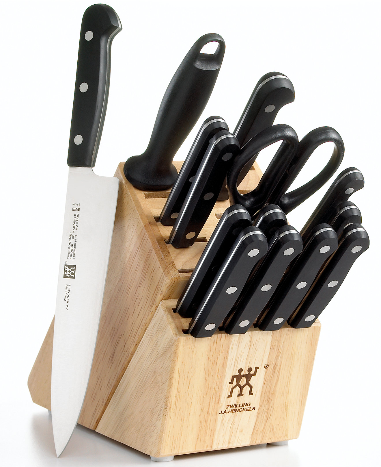 Knife Set Block Henckels Knife Block Set