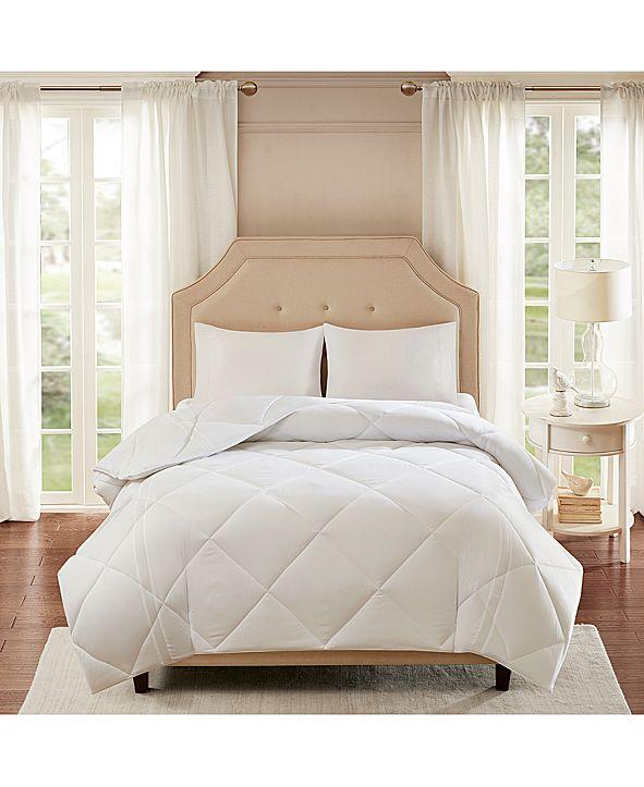 Sleep Philosophy Smart Cool by Coolmax® Microfiber White King Down-Alternative Comforter