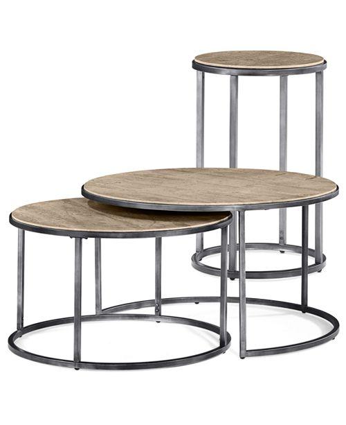 Travertine Coffee Table Macys Barkeaterlake Com