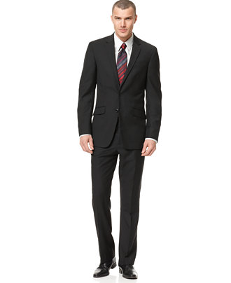 Kenneth Cole Mens Slim-Fit Suit