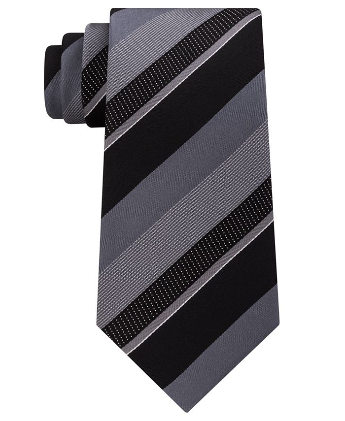 Kenneth Cole Reaction - Men's Stripe Silk Tie