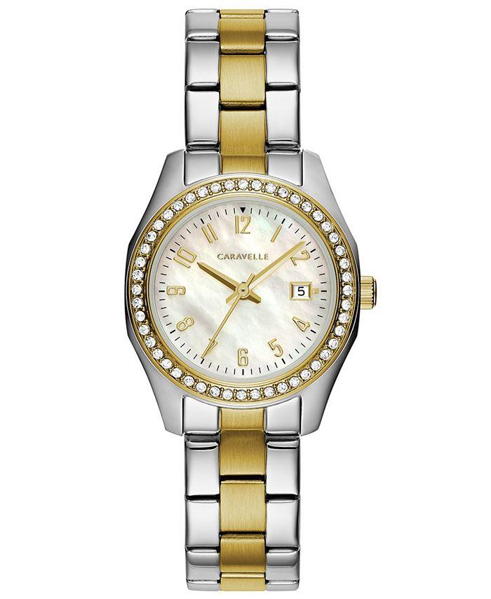 Caravelle - Women's Two-Tone Stainless Steel Bracelet Watch 28mm