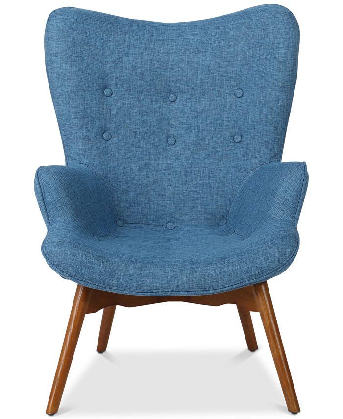 Noble House - Perlie Contour Chair, Quick Ship