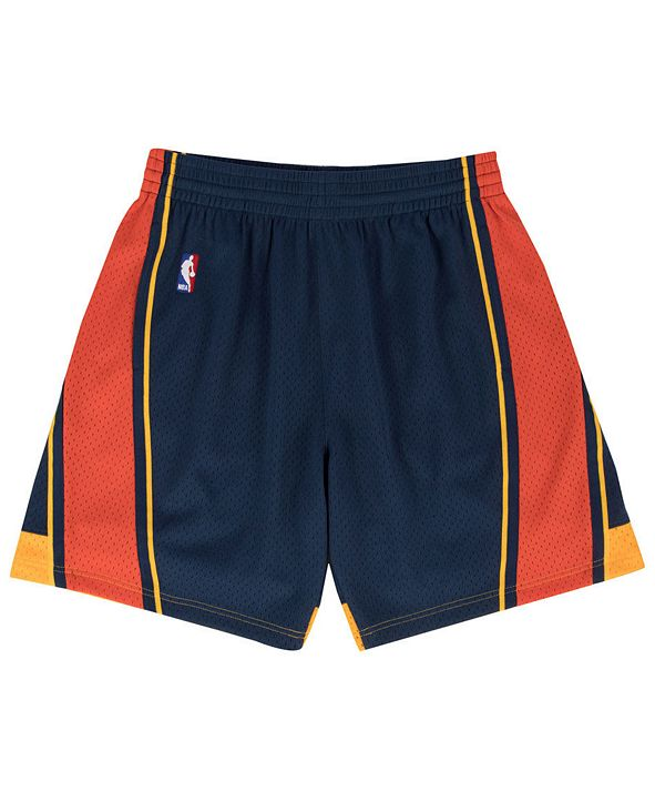 Mitchell & Ness Men's Golden State Warriors Swingman Shorts